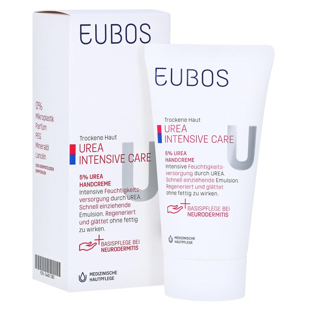 Fabelhaft EUBOS TROCKENE Haut Urea 5% Handcreme 75 Milliliter online #TQ_32