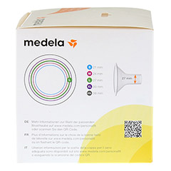 MEDELA Personal Fit Brusthaube Gr.L 2 St 1 Packung - Linke Seite