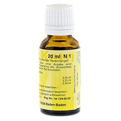 MERIDIANKOMPLEX 11 Tropfen zum Einnehmen 20 Milliliter N1 - Linke Seite