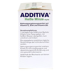 ADDITIVA heiße Minze+Apfel Pulver 120 Gramm - Rechte Seite