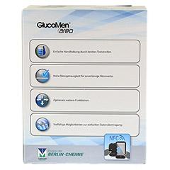 GLUCOMEN areo Blutzuckermessgerät Set mg/dl 1 Stück - Rückseite