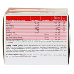GALACORDIN complex Omega-3 Tabletten 120 Stück - Rückseite