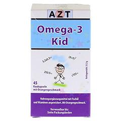OMEGA 3 Kid Kautabletten 45 Stück - Rückseite