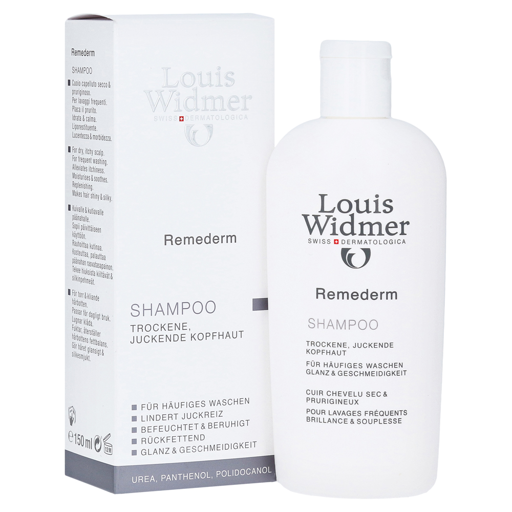 erfahrungen zu widmer remederm shampoo leicht parf miert 150 milliliter medpex versandapotheke. Black Bedroom Furniture Sets. Home Design Ideas