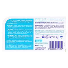 ULTRADEX/RETARDEX Zahnpasta antibakteriell 75 Milliliter - Rückseite