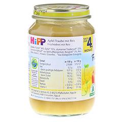 HIPP Frucht & Getreide Apfel-Traube m.Reis 190 Gramm - Rückseite