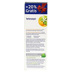 TETESEPT Erholung & Regeneration Bad 125 Milliliter - Rückseite