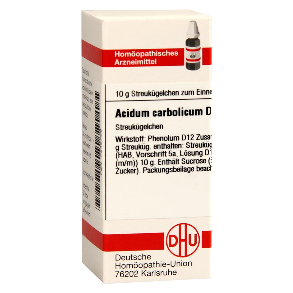 erfahrungen zu acidum carbolicum d 12 globuli 10 gramm n1. Black Bedroom Furniture Sets. Home Design Ideas