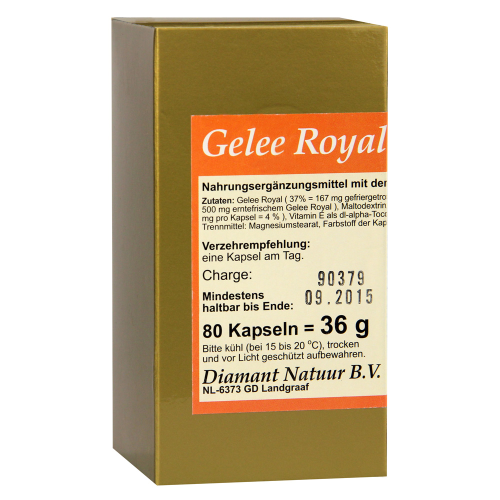 gelee royal 1x1 pro tag kapseln 80 st ck online bestellen medpex versandapotheke. Black Bedroom Furniture Sets. Home Design Ideas