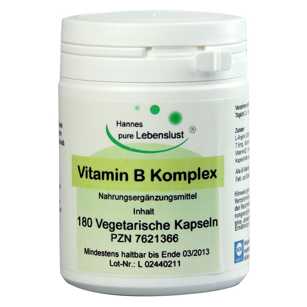 vitamin b komplex kapseln 180 st ck online bestellen. Black Bedroom Furniture Sets. Home Design Ideas