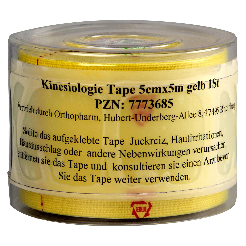 kinesiologie-tape-5-cmx5-m-gelb-1-stuck, 10.99 EUR @ medpex-de