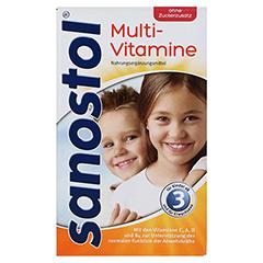 SANOSTOL ohne Zuckerzusatz Saft + gratis sanostol Drachen-Schmatz 460 Milliliter - Vorderseite