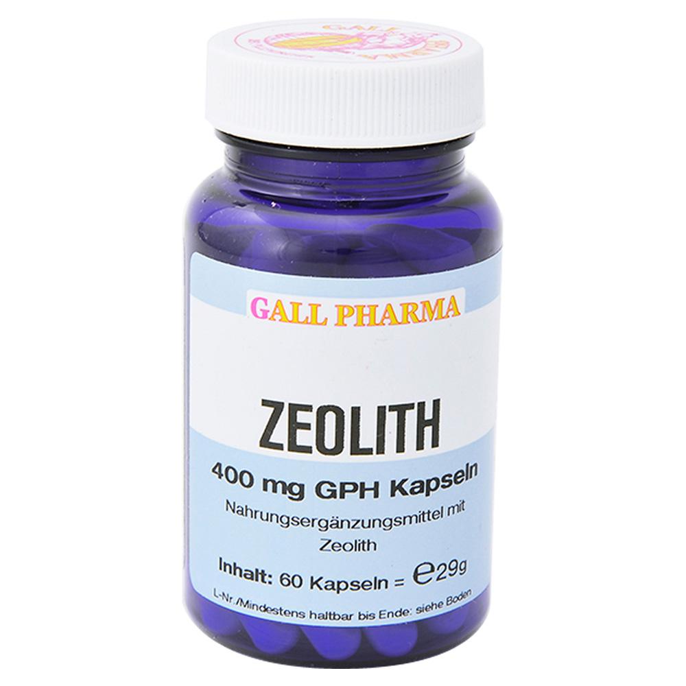 zeolith 400 mg gph kapseln 60 st ck online bestellen medpex versandapotheke. Black Bedroom Furniture Sets. Home Design Ideas