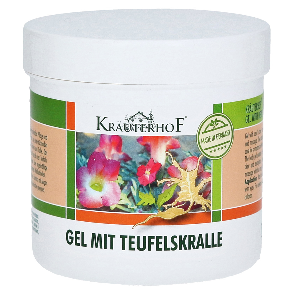 erfahrungen zu teufelskralle gel kr uterhof 250 milliliter medpex versandapotheke. Black Bedroom Furniture Sets. Home Design Ideas