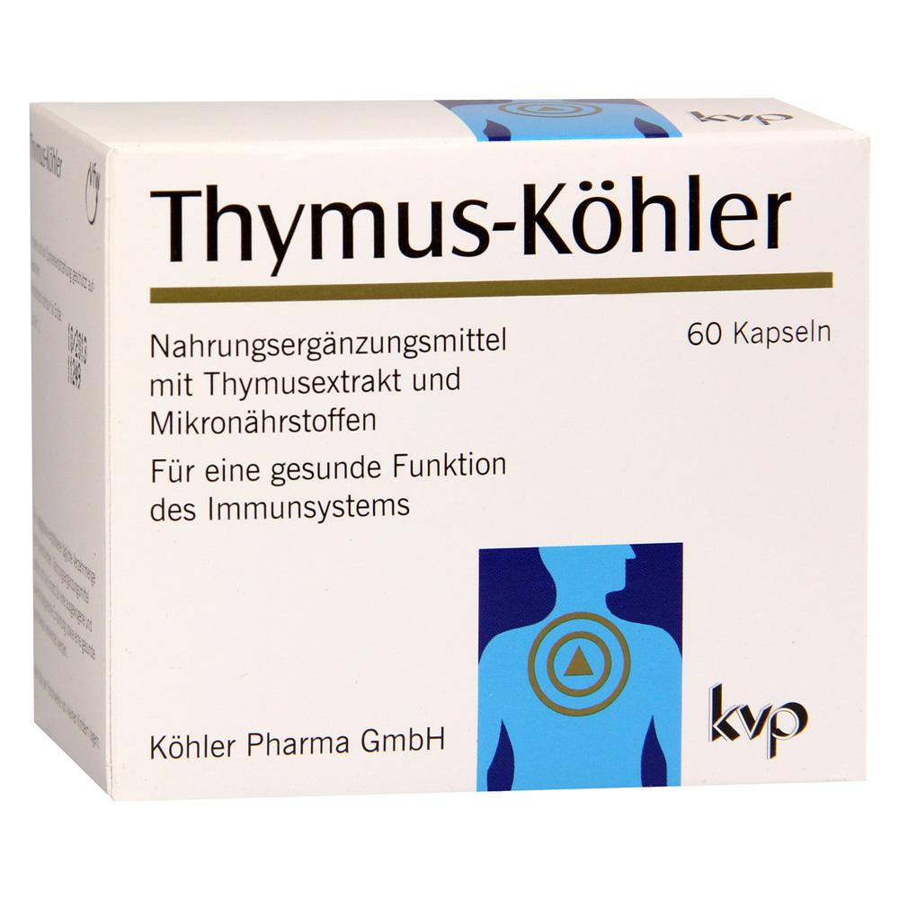 THYMUS KÖHLER Kapseln 60 Stück online bestellen - medpex Versandapotheke