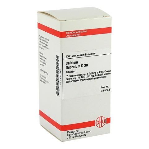 CALCIUM FLUORATUM D 30 Tabletten 200 Stück