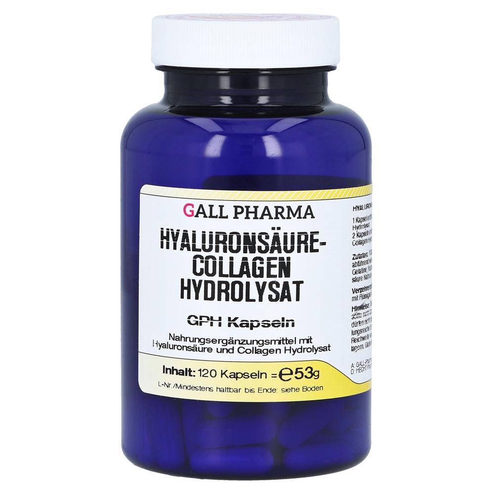 hyalurons ure collagen hydrolysat gph kapseln 120 st ck online bestellen medpex versandapotheke. Black Bedroom Furniture Sets. Home Design Ideas