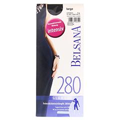 BELSANA glamour 280den AD lang L schw.m.Sp. 2 Stück