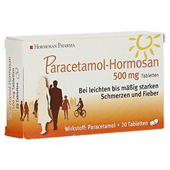 Paracetamol-Hormosan 500mg 20 Stück N2