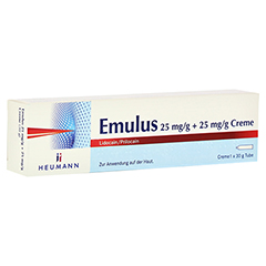 EMULUS 25 mg/g + 25 mg/g Creme 30 Gramm N3
