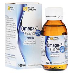 OMEGA 3 Fischöl Lamotte 100 Milliliter