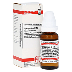 PYROGENIUM D 12 Dilution 20 Milliliter N1