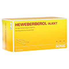 HEWEBERBEROL injekt Ampullen 50 Stück N2