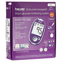 BEURER GL44 Blutzuckermessgerät mg/dl lila 1 Stück