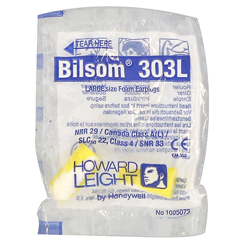 BILSOM 303 large Gehörschutzstöpsel 2 Stück