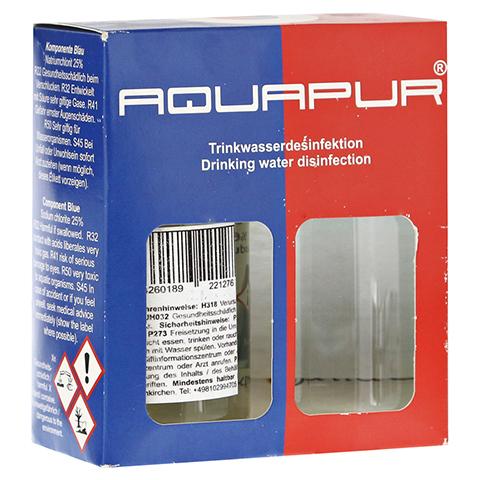 AQUAPUR Desinfektionsmit.m.Chlordioxid Na.Chlorit 1 Stück