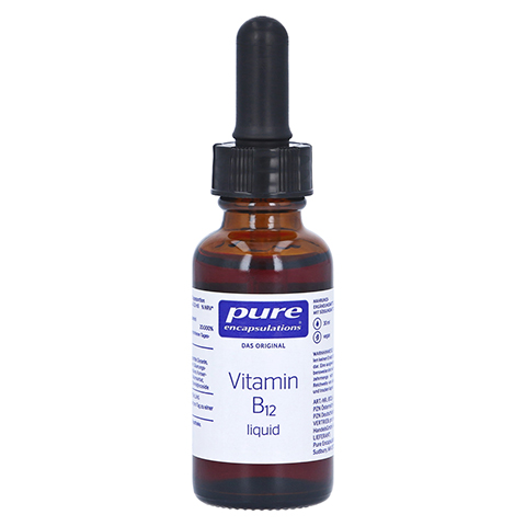 PURE ENCAPSULATIONS Vitamin B12 liquid 30 Milliliter