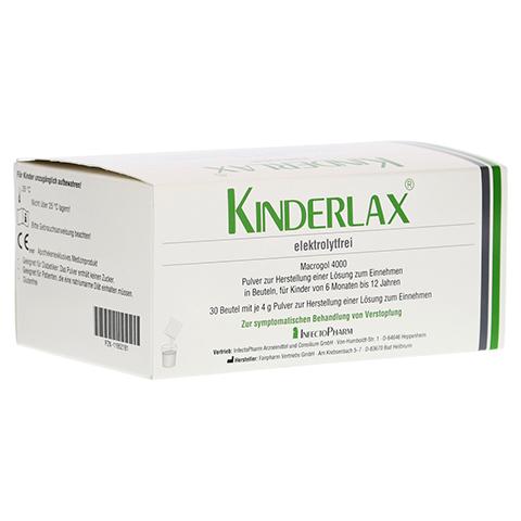 KINDERLAX elektrolytfrei Plv.z.Her.e.Lsg.z.Einn. 30 Stück