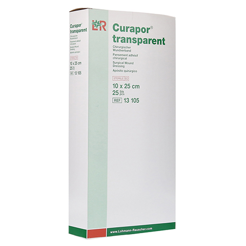CURAPOR Wundverband steril transparent 10x25 cm 25 Stück