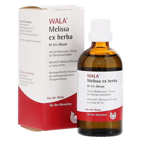 MELISSA EX Herba W 5% Oleum 100 Milliliter