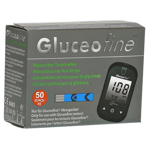 GLUCEOFINE Blutzucker-Teststreifen 50 Stück