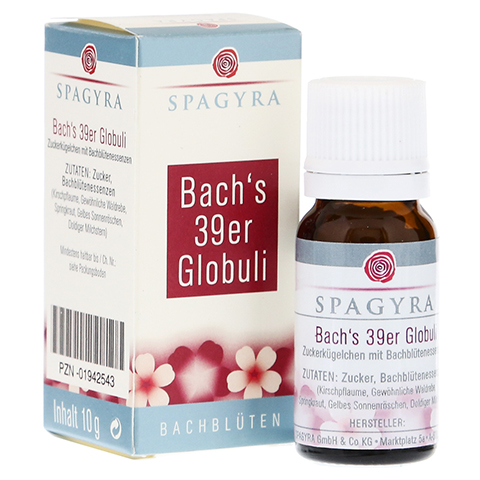 BACHBLÜTEN Bach's 39er Globuli 10 Gramm