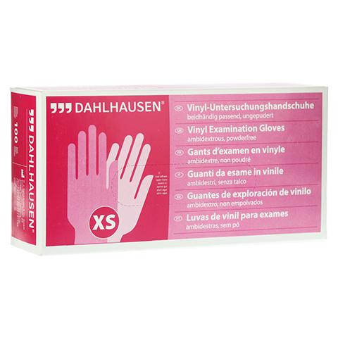 VINYL Handschuhe ungepudert Gr.XS 100 Stück