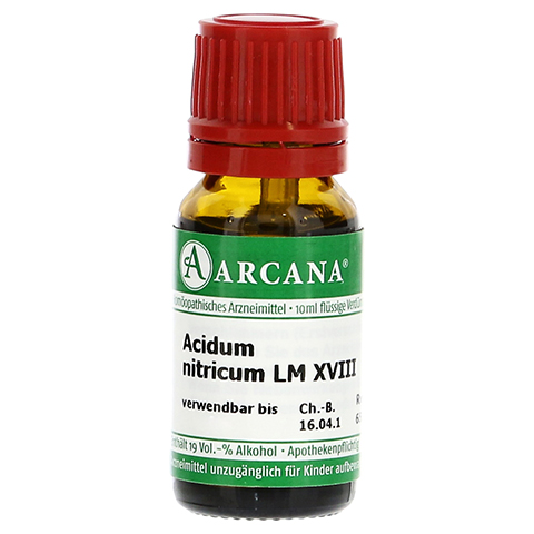ACIDUM NITRICUM LM 18 Dilution 10 Milliliter N1