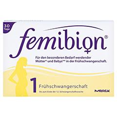 FEMIBION Schwangerschaft 1 D3+800 µg Folat Tabl. 30 Stück - Vorderseite