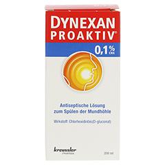 DYNEXAN Proaktiv 0,1% CHX Lösung 200 Milliliter - Vorderseite