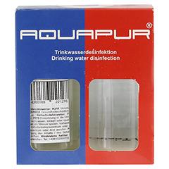 AQUAPUR Desinfektionsmit.m.Chlordioxid Na.Chlorit 1 Stück - Vorderseite
