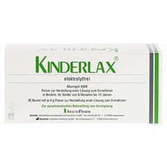KINDERLAX elektrolytfrei Plv.z.Her.e.Lsg.z.Einn. 30 Stück - Vorderseite