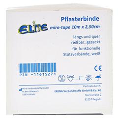 ELITE TAPE Pflasterbinde 2,5 cmx10 m 1 Stück - Vorderseite
