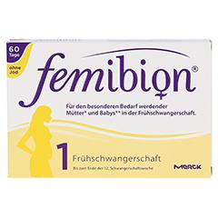 FEMIBION Schwangerschaft 1 D3+800 µg Folat o.Jod 60 Stück - Vorderseite