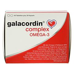 GALACORDIN complex Omega-3 Tabletten 60 Stück - Vorderseite