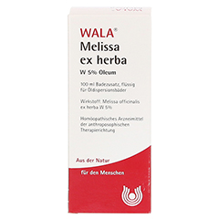 MELISSA EX HERBA W 5% Oleum 100 Milliliter - Vorderseite