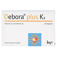 DEBORA plus K2 Kapseln 20 Stück - Vorderseite