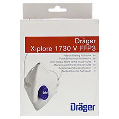 X-PLORE Staubmaske 1730 V FFP3 NR D 10 Stück - Vorderseite