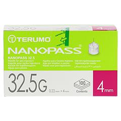 TERUMO NANOPASS 32,5 Pen Kanüle 0,22x4 mm 100 Stück - Vorderseite