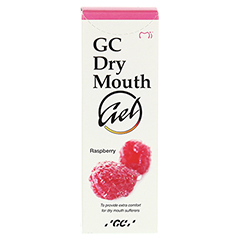 GC Dry Mouth Gel Himbeere 40 Gramm - Vorderseite